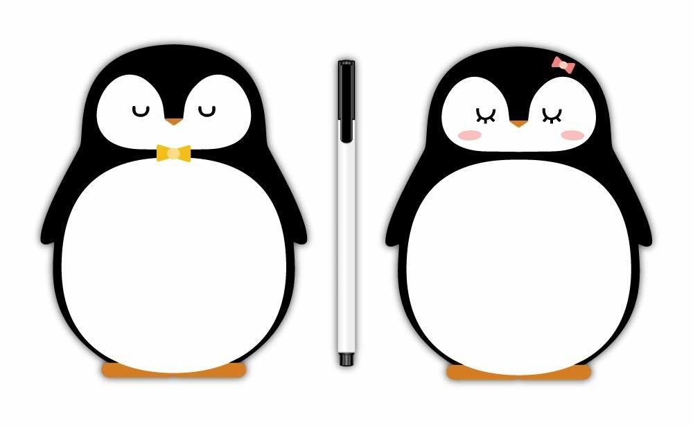 A penguin whiteboard