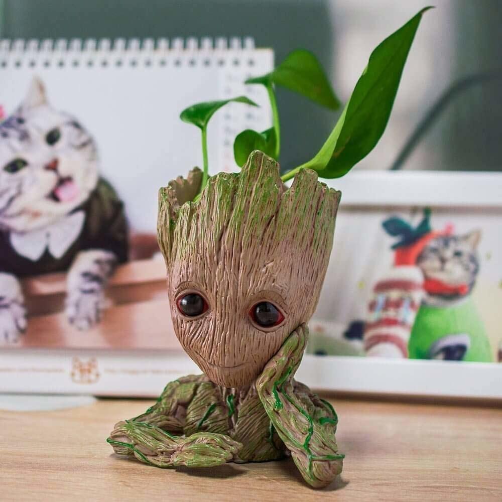 A Groot flower pot