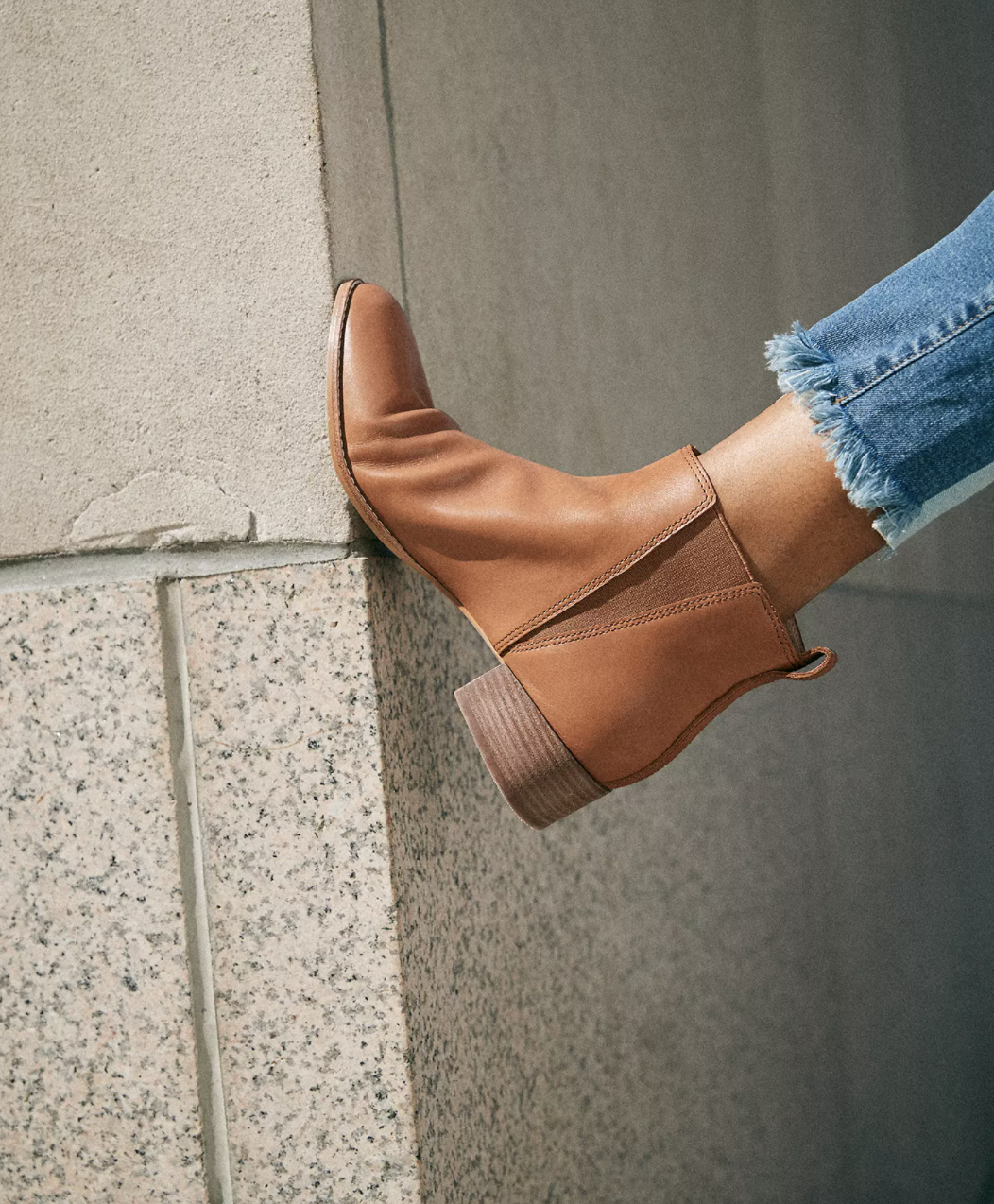 the boot in brown