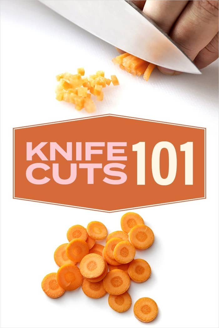 Header image for the post The Complete Guide To Knife Cuts