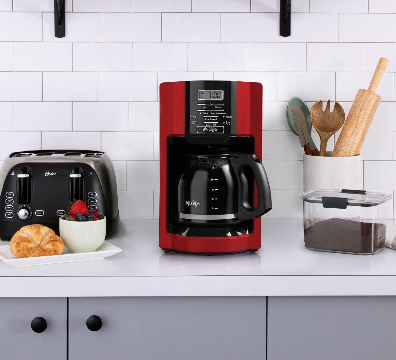 mr coffee red coffee maker