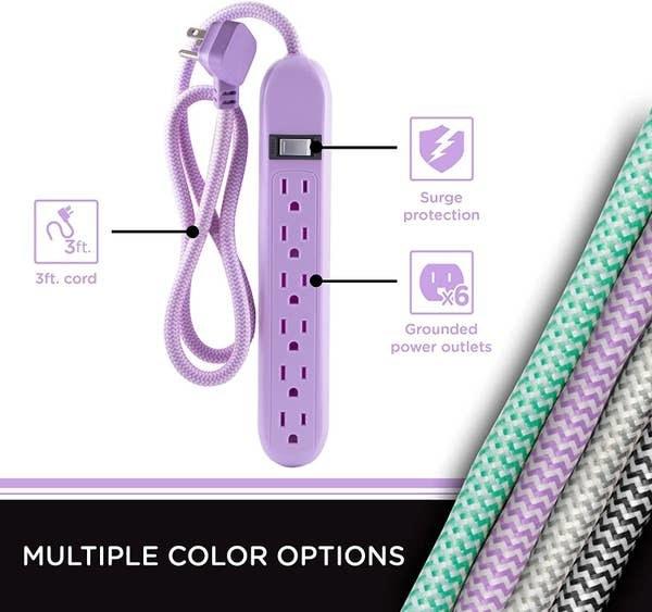 a lavender power strip