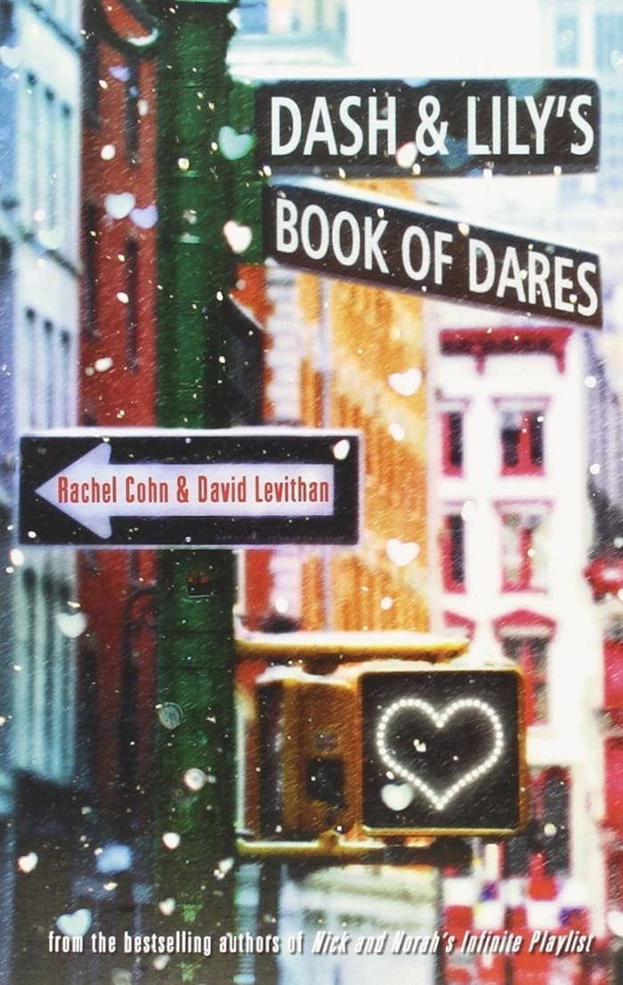 """Book cover of """"Dash & Lily's Book of Dares."""""""