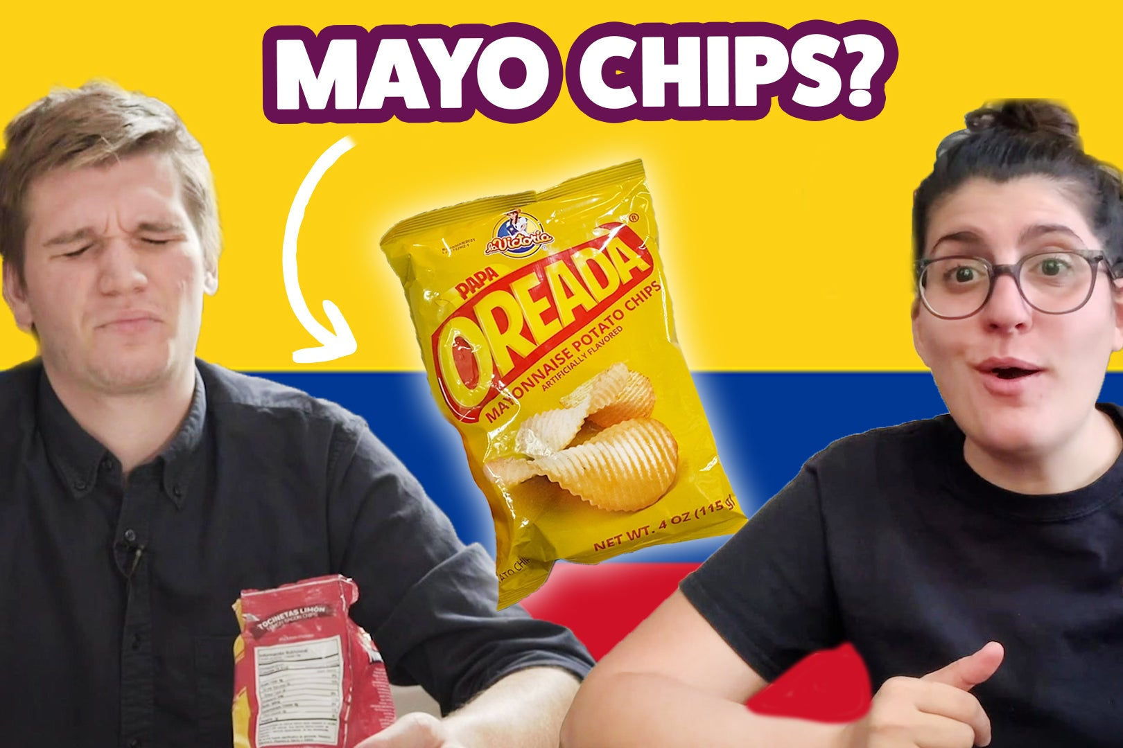 Americans Try Colombian Snacks