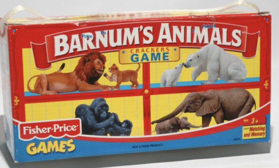 A box of Barnum's Animals animal crackers