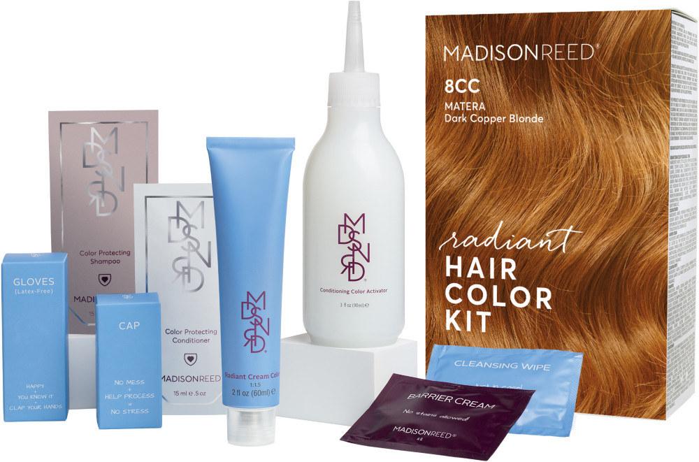 The full Madison Reed Matera Marigold dye kit