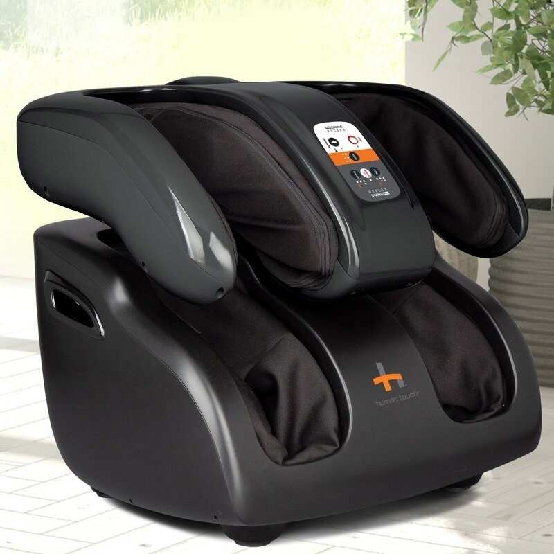 The foot, calf, and thigh massager