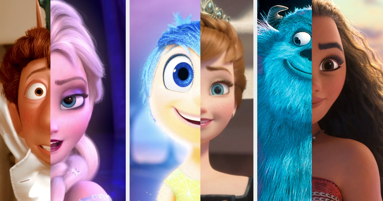 Everyone Is 50% Disney Character And 50% Pixar Character — Which Are You?