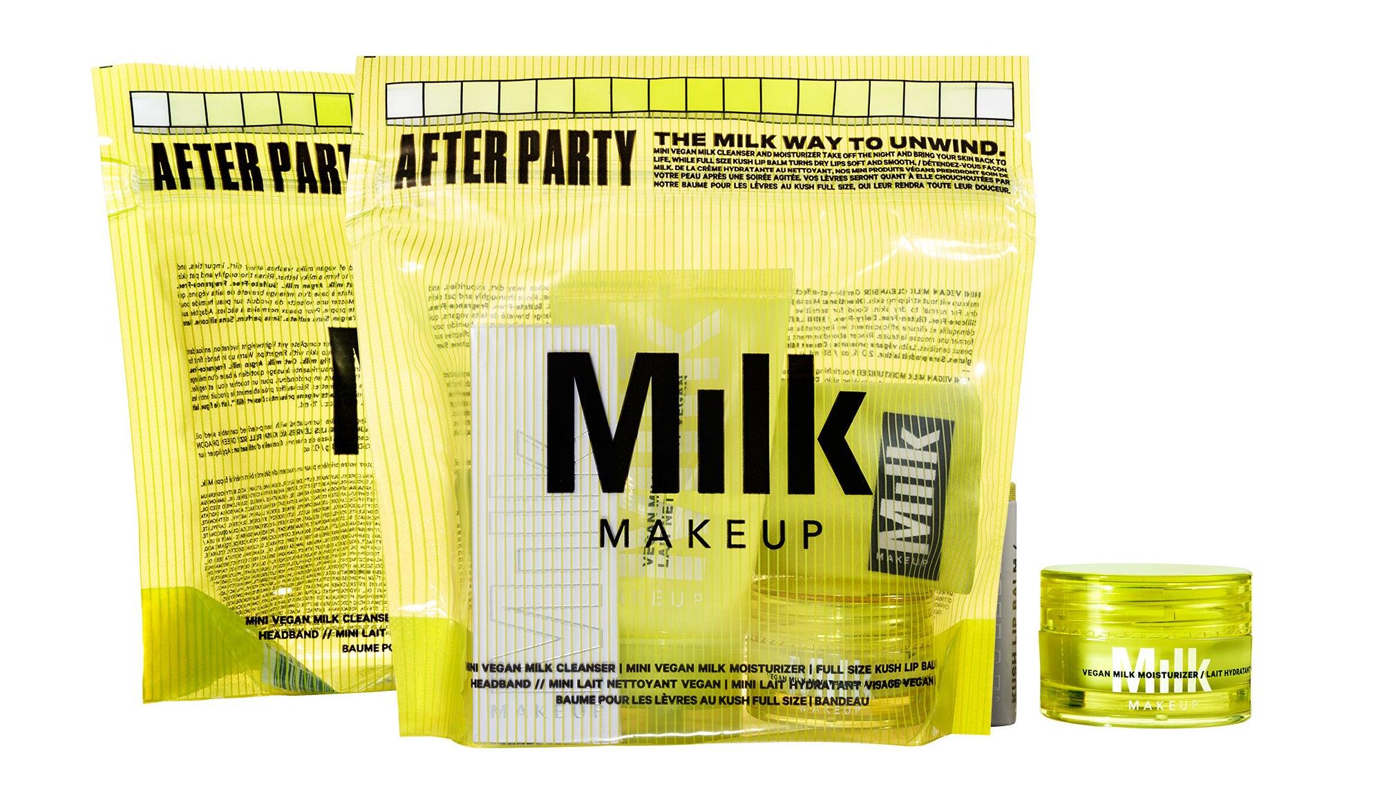 The milk makeup after party skincare set