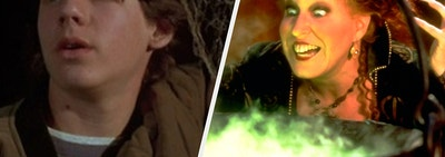 Max Dennison and Winifred Sanderson from Hocus Pocus