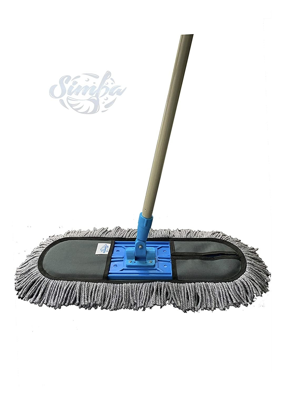 A wet and dry floor mop