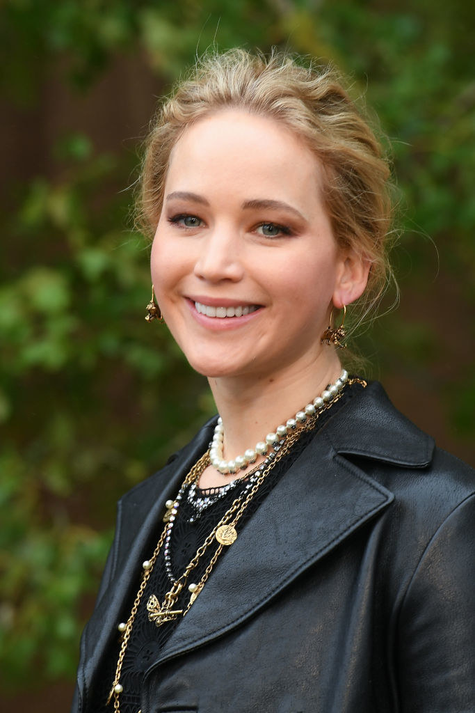 : Jennifer Lawrence at the 2020 Christian Dior Womenswear Spring/Summer show
