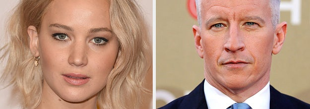 Jennifer Lawrence confronted Anderson Cooper