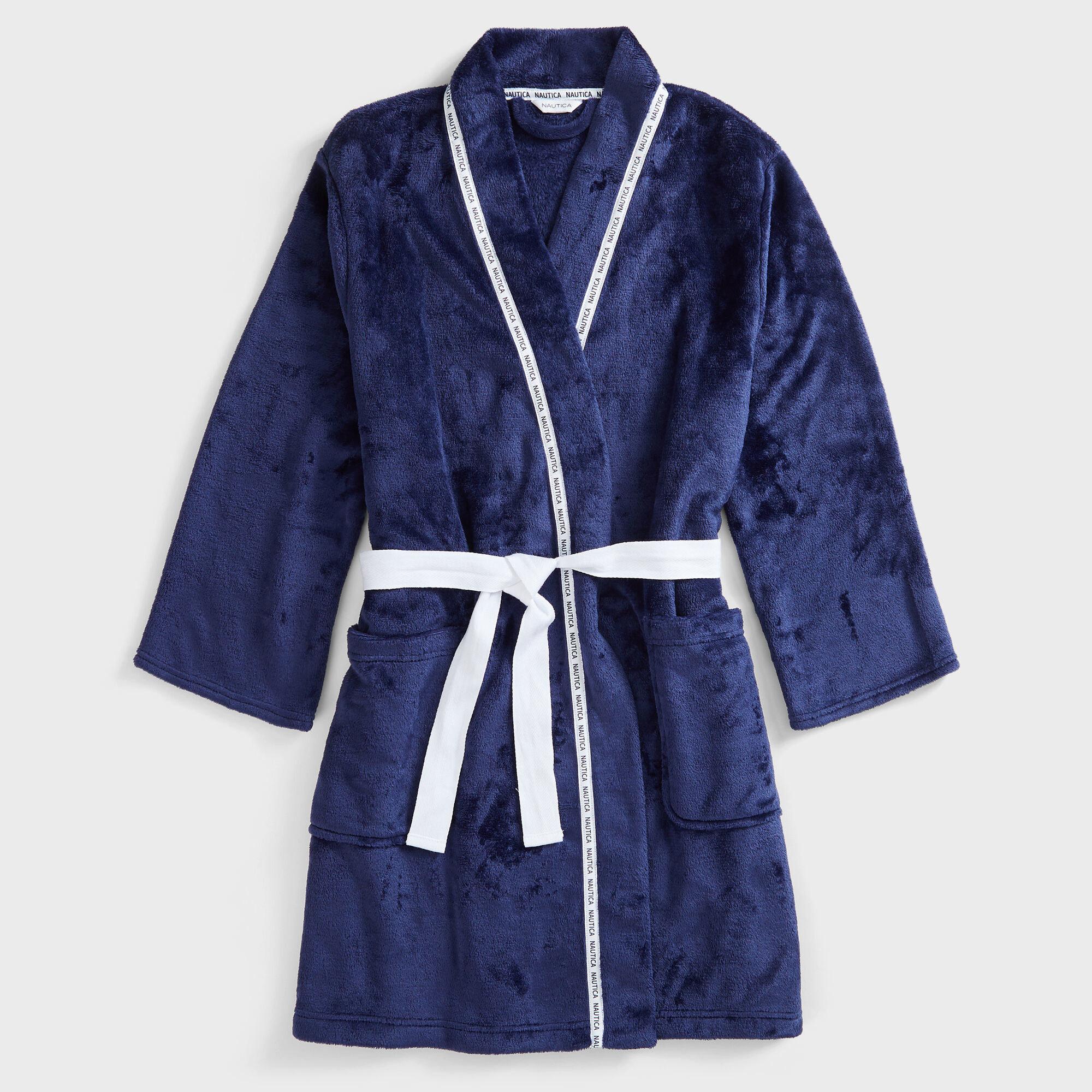the blue robe