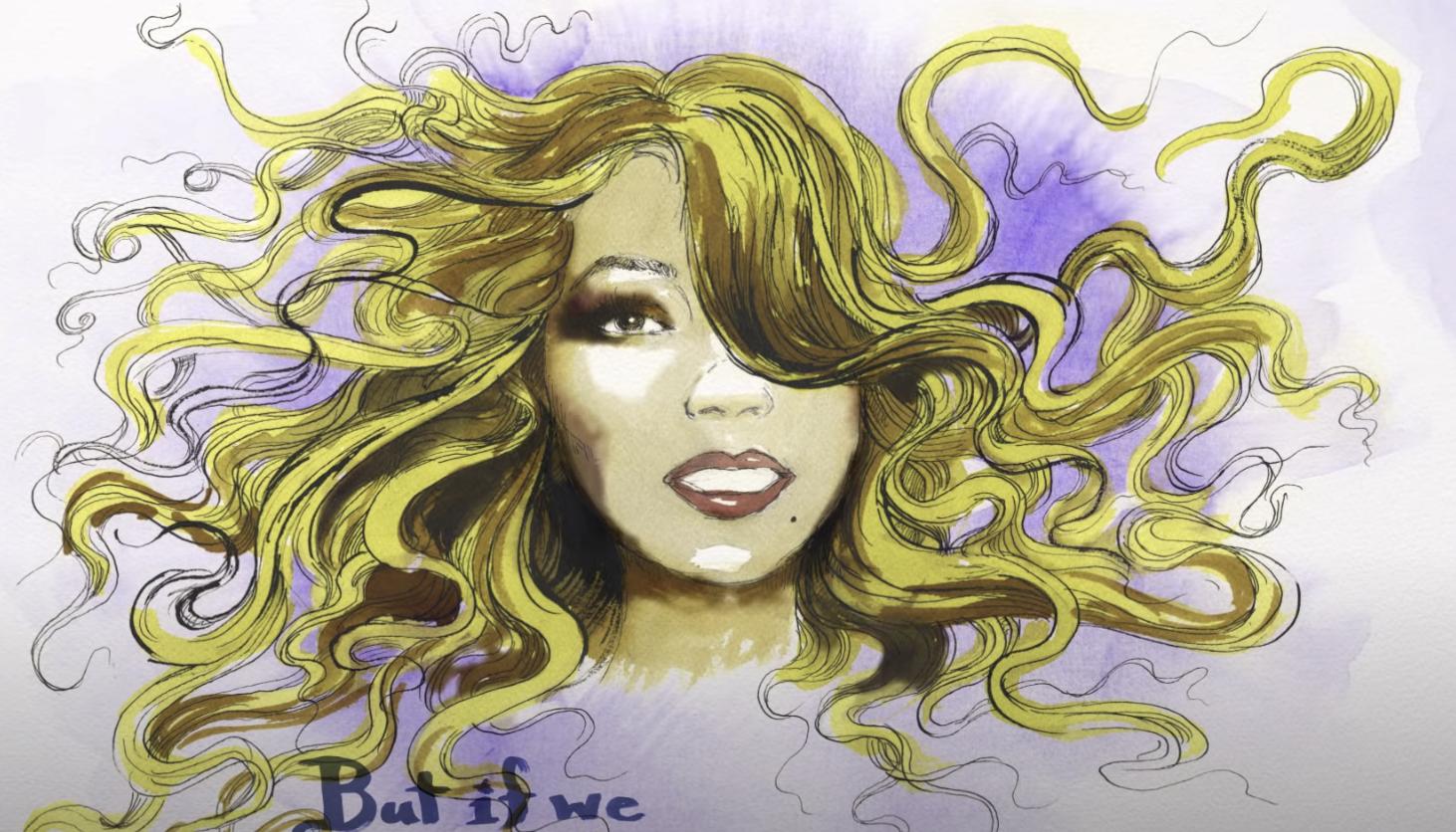 Mariah Carey illustration