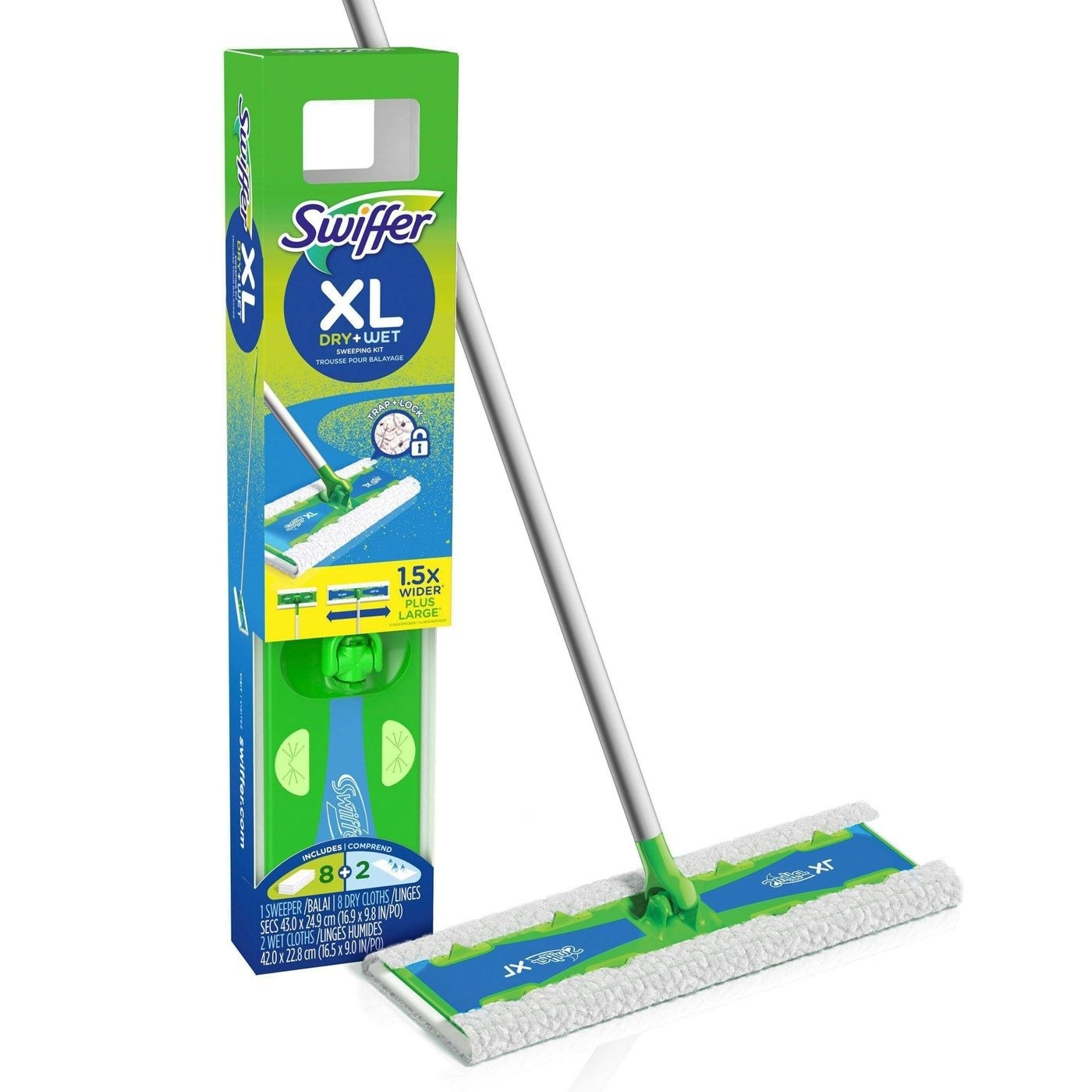 The Swiffer Sweeper kit
