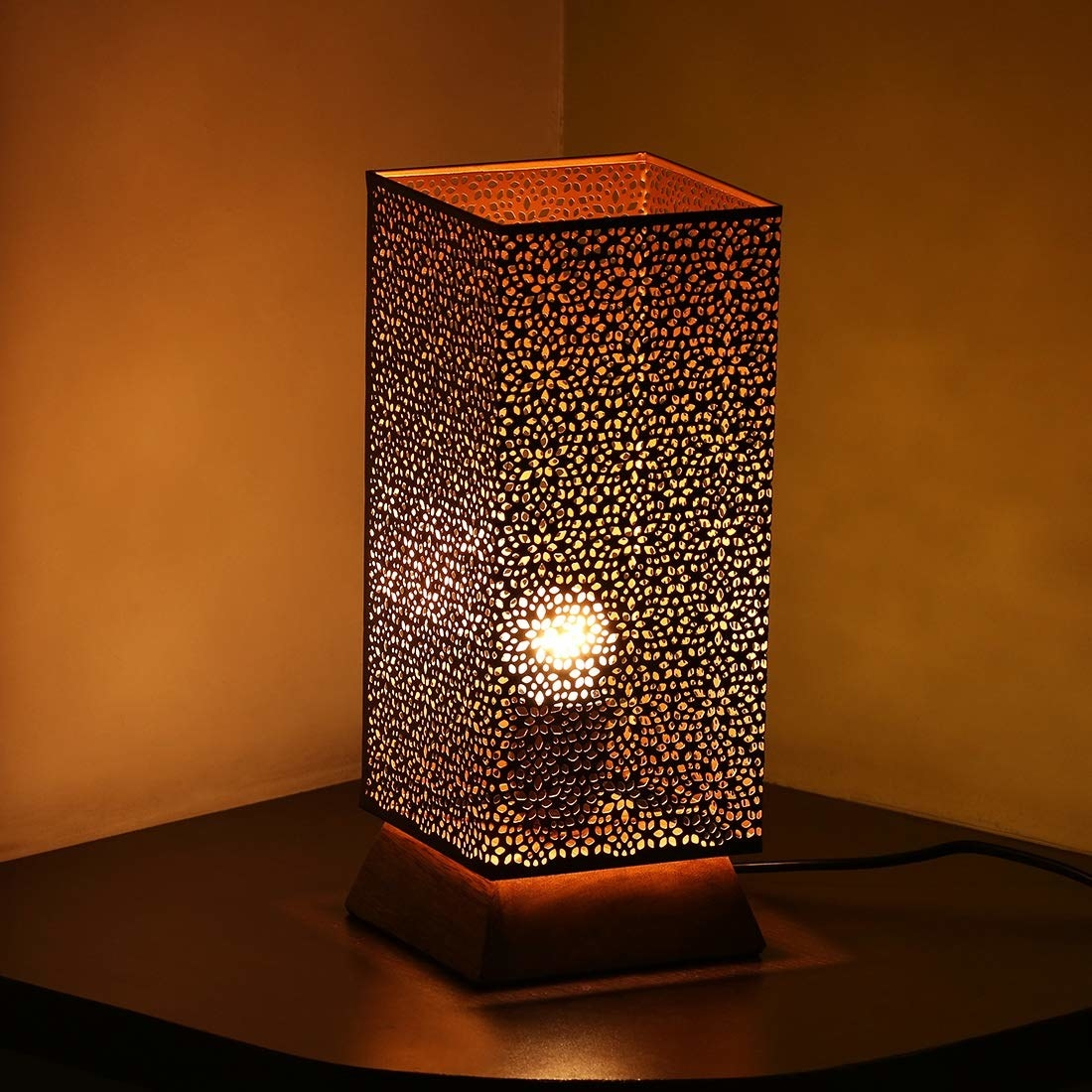 A Moroccan lamp