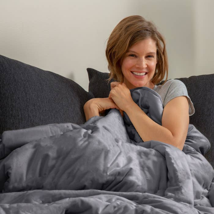 Model uses temperature balancing weighted blanket