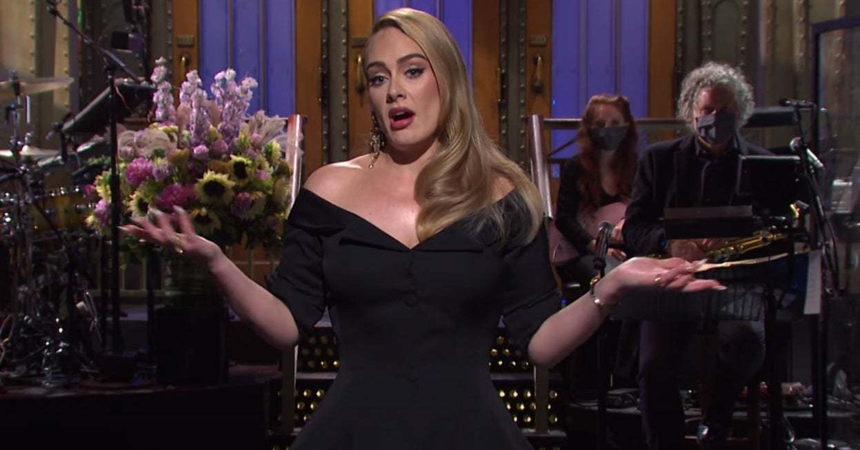 """Adele Addressed Her Weight Loss And Upcoming Album In Her """"SNL"""" Monologue"""