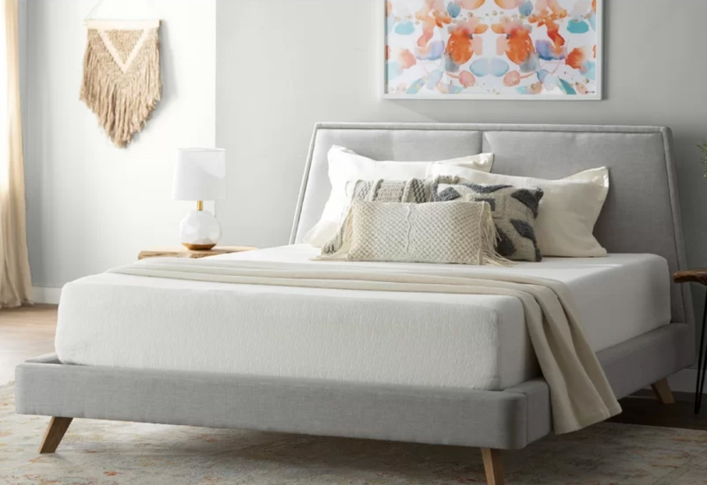 The 10 inch medium memory foam mattress