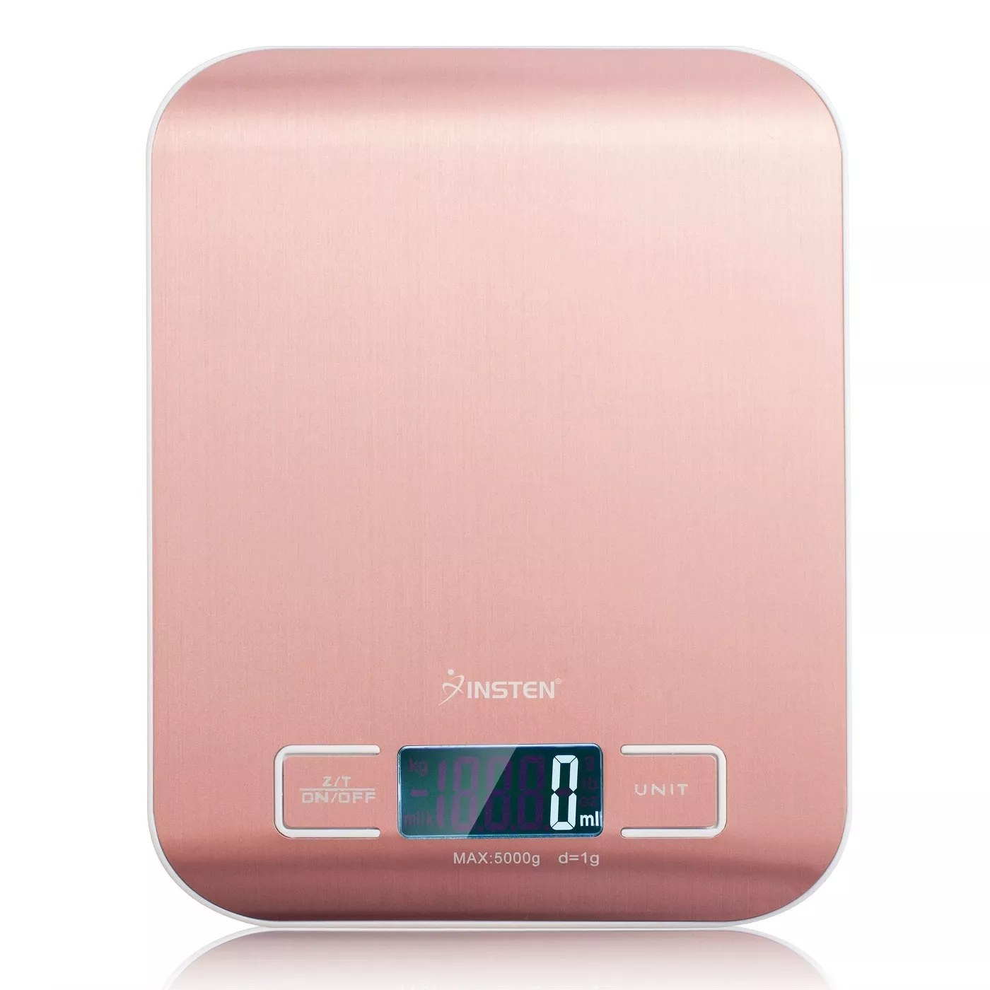 The pink, digital, Insten scale