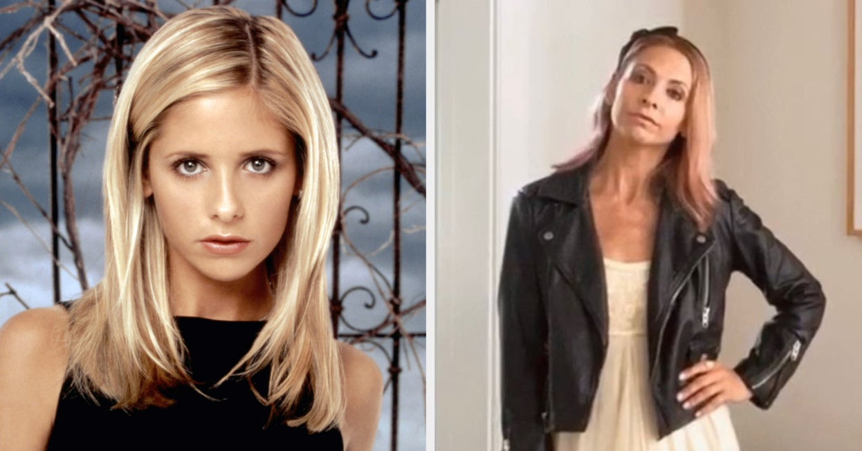 """Sarah Michelle Gellar's Family Is Watching """"Buffy,"""" And She Can't Remember A Lot Of The Plots"""