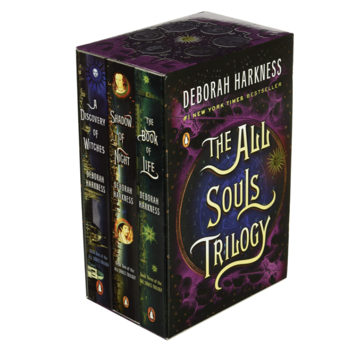 Boxed set of books in the All Souls Trilogy series