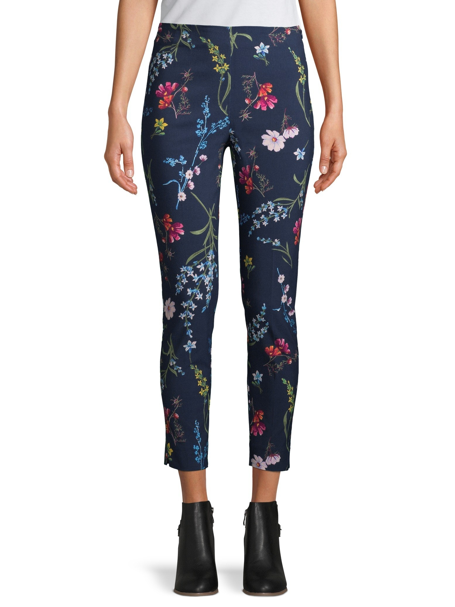 Pants with florals