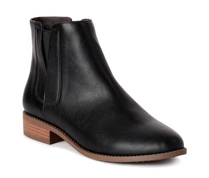 A black boot