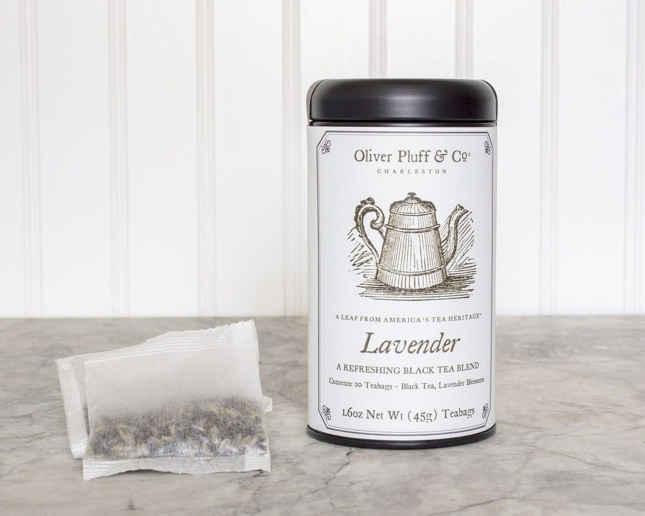 the white tea tin