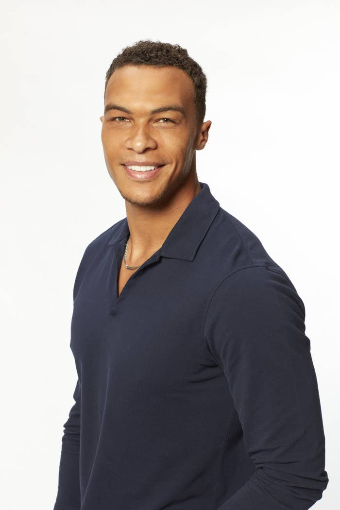 Dale Moss from The Bachelorette smiling