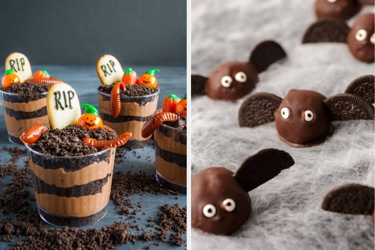 21 Easy Halloween Treats To Make For Your Kids (Or For Yourself)
