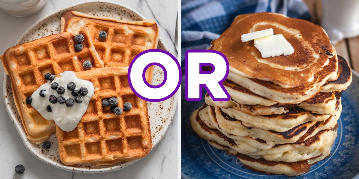 You're Either Waffles Or Pancakes — Take This Quiz To Find Out Which One