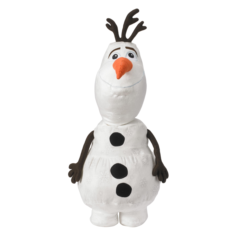 The white snowman plush