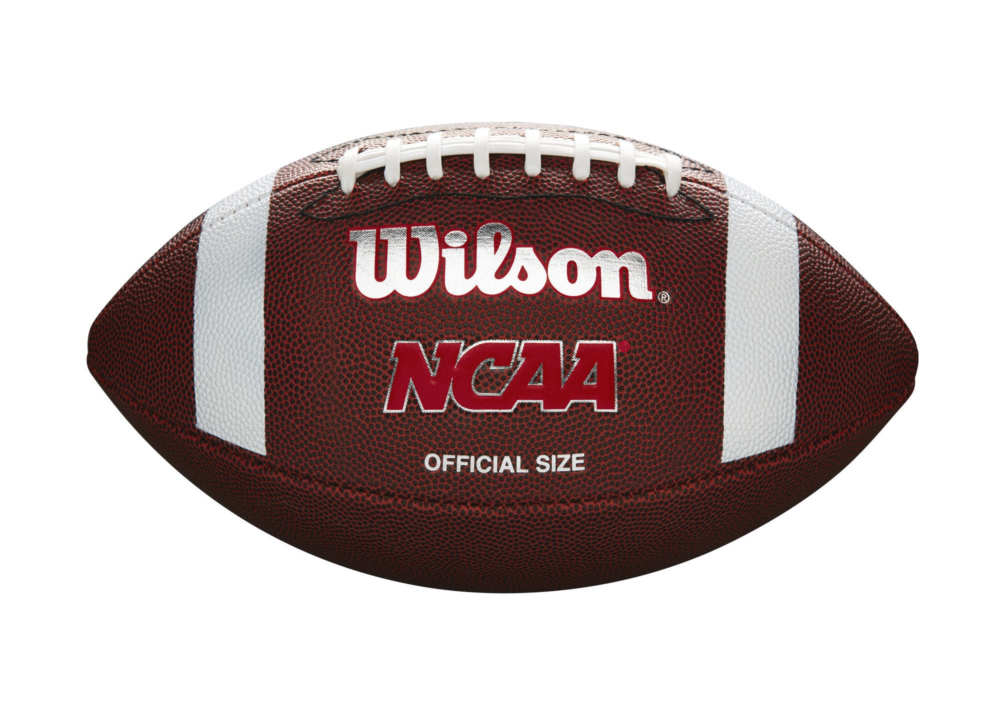 The brown football