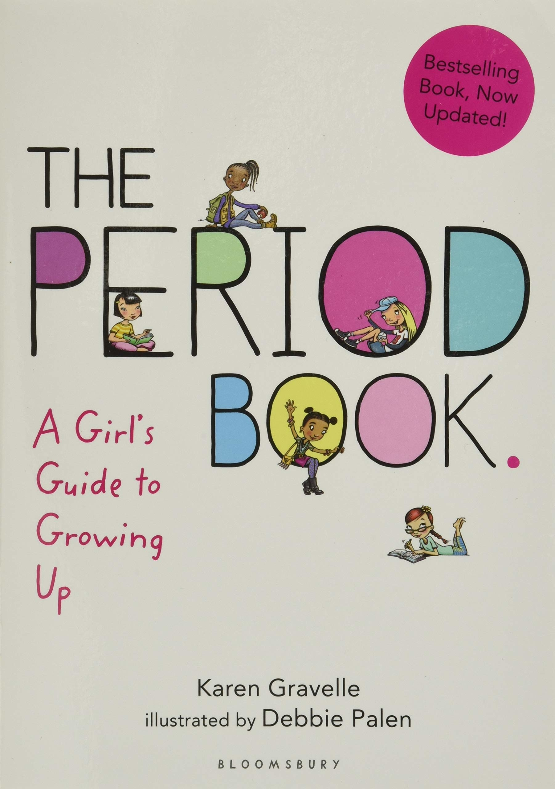 """The cover of """"The Period Book"""" by Karen Gravelle"""