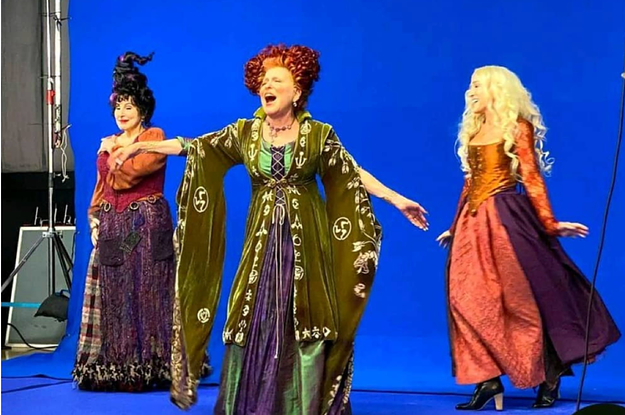 Listen: Hocus Pocus 2 Is Happening. Don't Worry The Sanderson Sisters Are In!