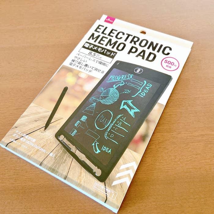 ダイソー 電子 メモ ダイソーの「電子メモパッド」550円は本当にお買い得か