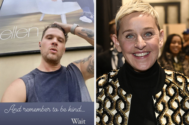 "Ryan Phillippe Appeared To Throw Major Shade At Ellen DeGeneres After Months Of ""Toxic Workplace"" Reports"