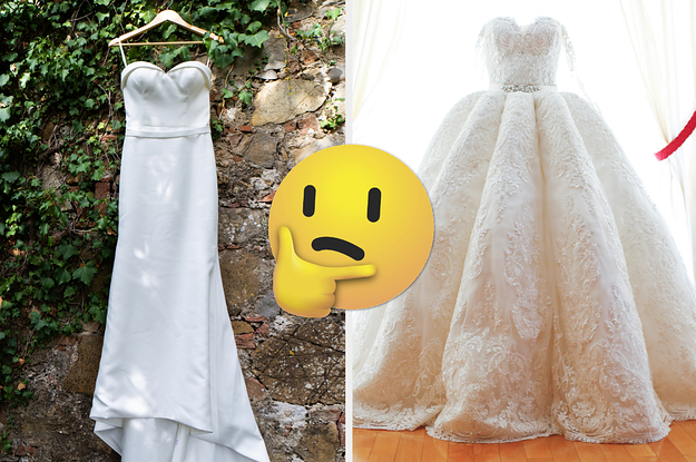 Go Wedding Dress Shopping And We'll Tell You When You'll Get Married