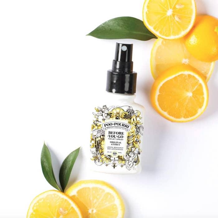 The toilet spray in original citrus