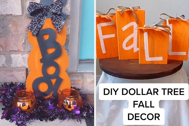 This Mom S Easy Diy Dollar Tree Decorations Got Me Stoked For Halloween