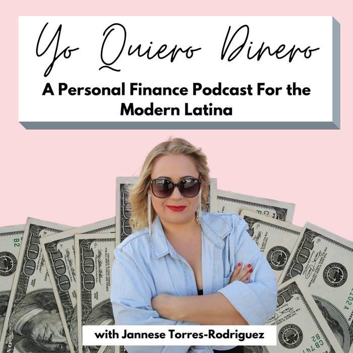 Jannese Torres-Rodriguez, host of the Yo Quiero Dinero podcast