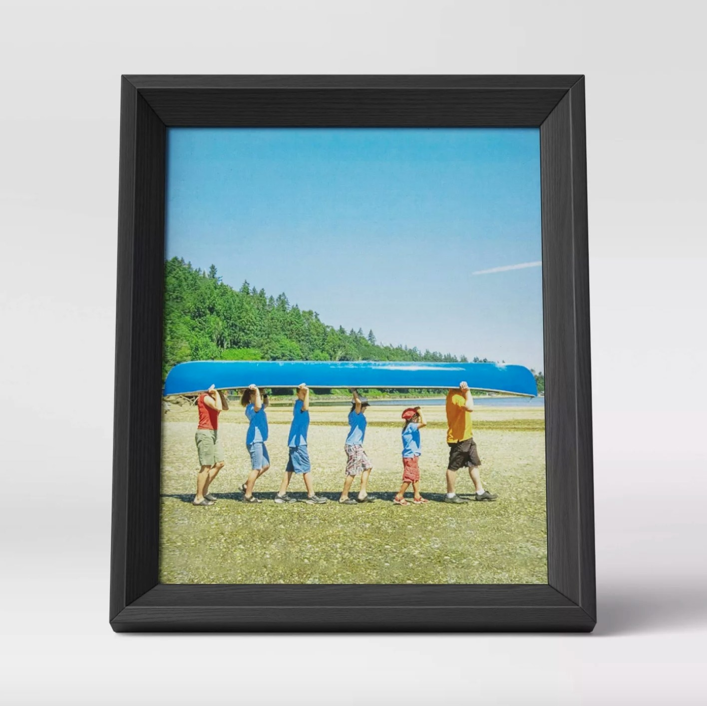 The wedge picture frame in black