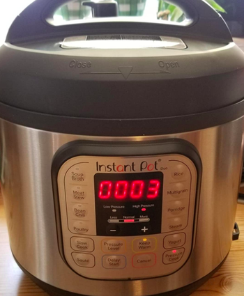 A reviewer photo of the Instant Pot