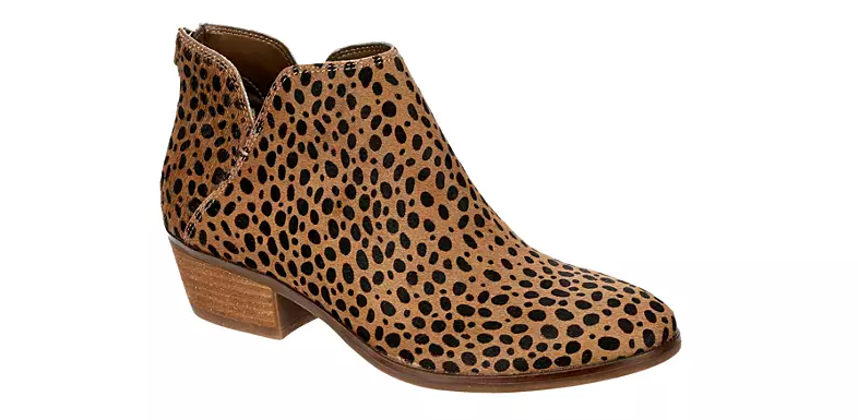 the leopard-print booties