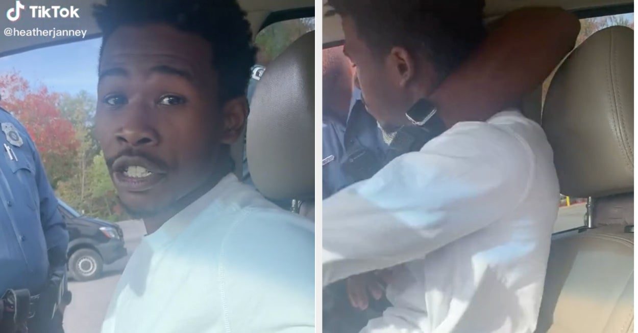 A Viral TikTok Is Raising Concerns About Cops Using Excessive Force On A Passenger During A Traffic Stop
