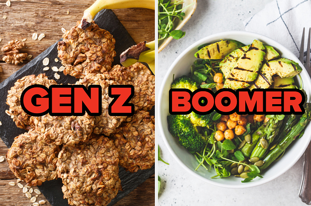 Eat Some Vegan Food To Determine Which Generation You're Most Like