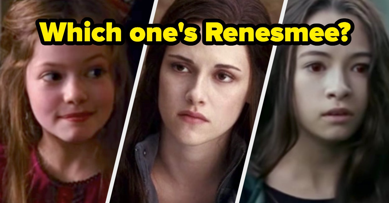 """If Given The Names Of 45 """"Twilight"""" Characters, Could You Point Them All Out?"""