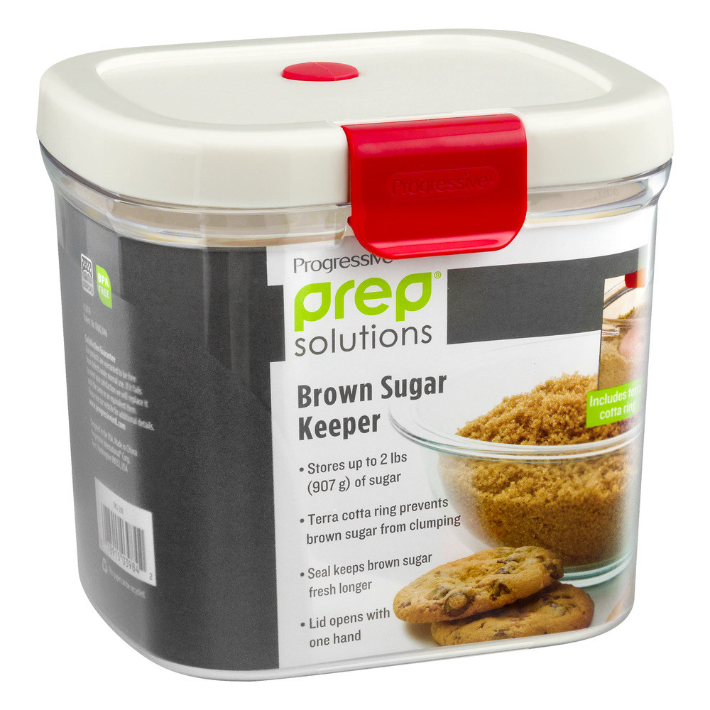 a progressive brown sugar keeper with the packaging